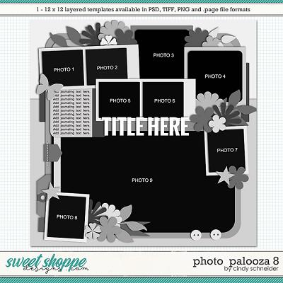 Cindy's Layered Templates - Photo Palooza 8 by Cindy Schneider