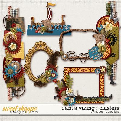 I Am A Viking : Clusters by Meagan's Creations