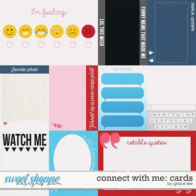 Connect With Me: Cards by Grace Lee