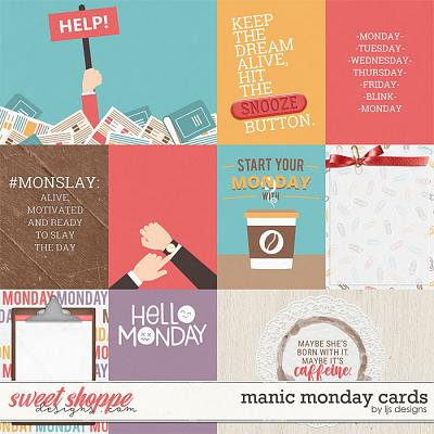 Manic Monday Cards by LJS Designs