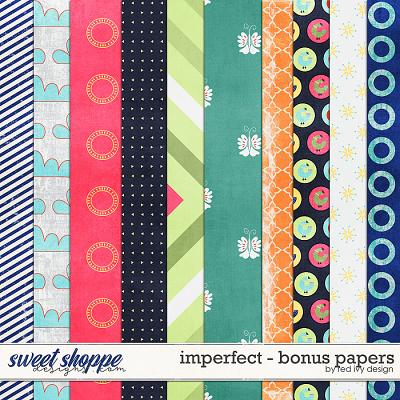 Imperfect - Bonus Papers by Red Ivy Design