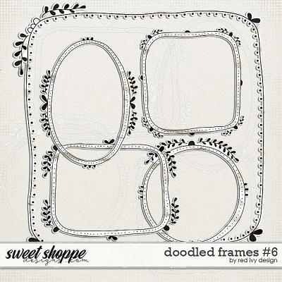 Doodled Frames #6 by Red Ivy Design