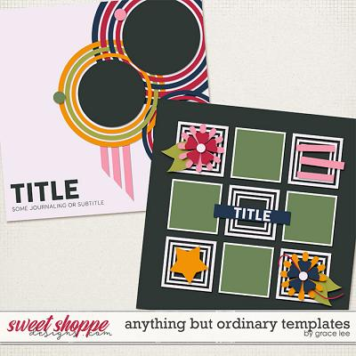 Anything But Ordinary Templates by Grace Lee