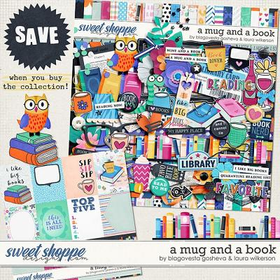A Mug and a Book Bundle by Blagovesta Gosheva and Laura Wilkerson