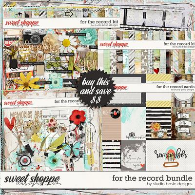 For The Record Bundle by Studio Basic