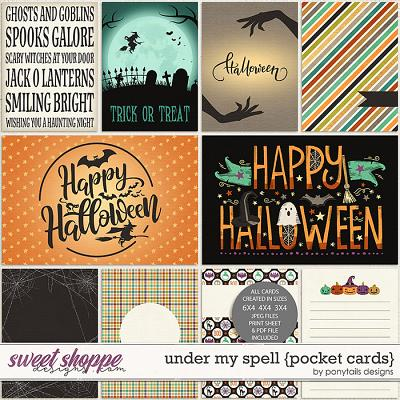 Under My Spell Pocket Cards by Ponytails