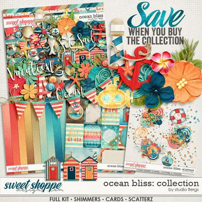 Ocean Bliss: COLLECTION & *FWP* by Studio Flergs