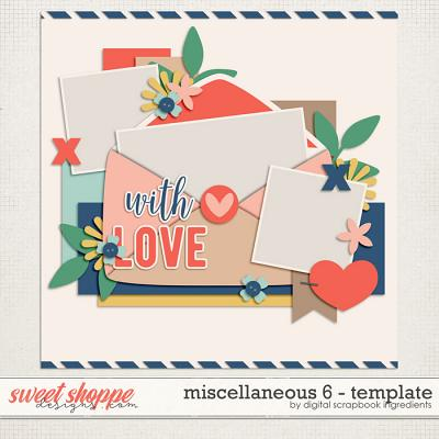 Miscellaneous 6 Template by Digital Scrapbook Ingredients