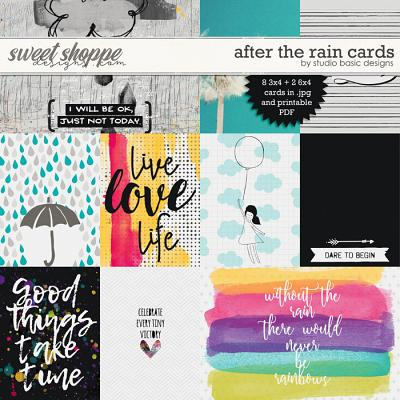After The Rain Cards by Studio Basic