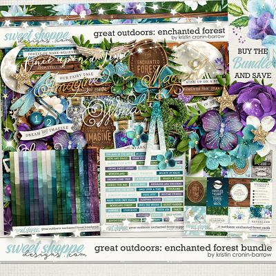 Great Outdoors: Enchanted Forest Bundle by Kristin Cronin-Barrow