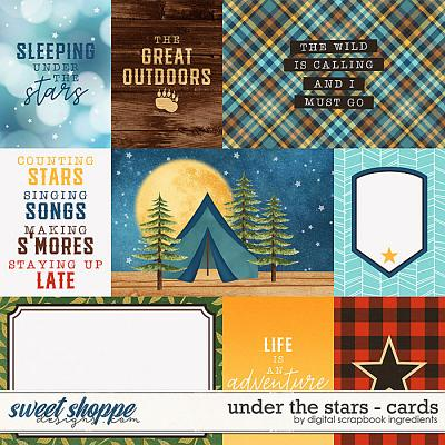 Under The Stars | Cards by Digital Scrapbook Ingredients