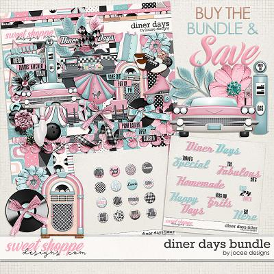 Diner Days Bundle by JoCee Designs