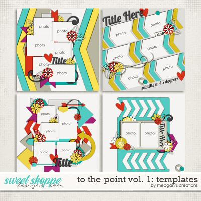 To the Point Vol. 1 : Templates by Meagan's Creations