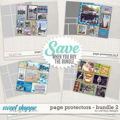Page Protectors Bundle 2 by WendyP Designs