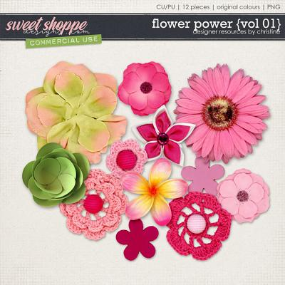 Flower Power {Vol 01} by Christine Mortimer