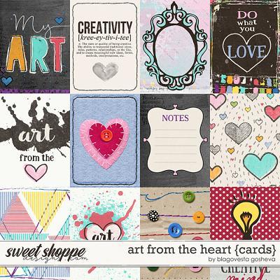 Art from the heart {cards} by Blagovesta Gosheva