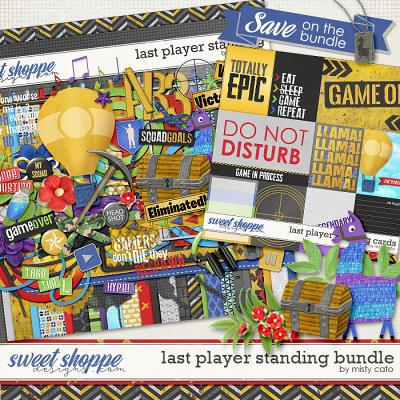 Last Player Standing Bundle by Misty Cato