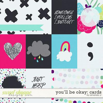 You'll Be Okay: Cards by Amanda Yi