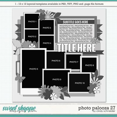Cindy's Layered Templates - Photo Palooza 27 by Cindy Schneider