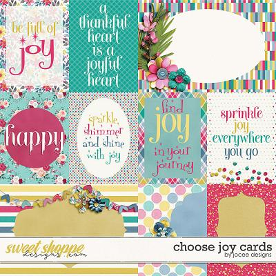 Choose Joy Cards by JoCee Designs