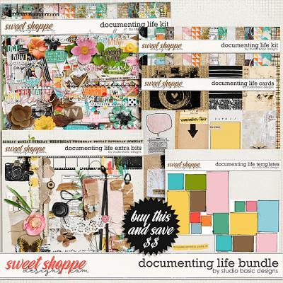 Documenting Life Bundle by Studio Basic