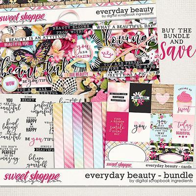 Everyday Beauty Bundle & *FWP* by Digital Scrapbook Ingredients