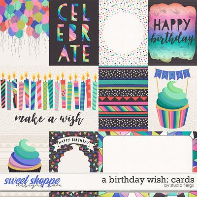 A Birthday Wish: CARDS by Studio Flergs