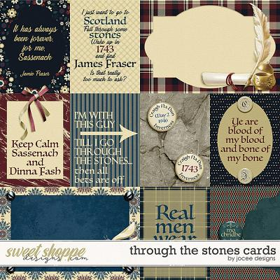 Through the Stones Cards by JoCee Designs