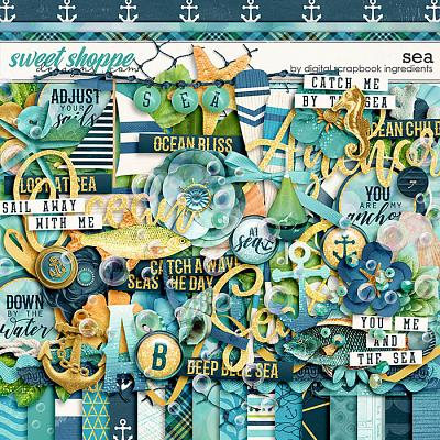 Sea by Digital Scrapbook Ingredients