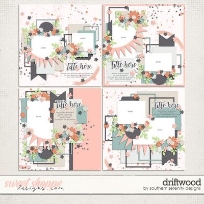 Driftwood Layered Template by Southern Serenity Designs