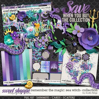 Remember the Magic: SEA WITCH- COLLECTION & *FWP* by Studio Flergs