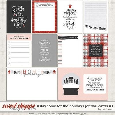 #StayHome for the Holidays: Journal Cards #1 by Traci Reed