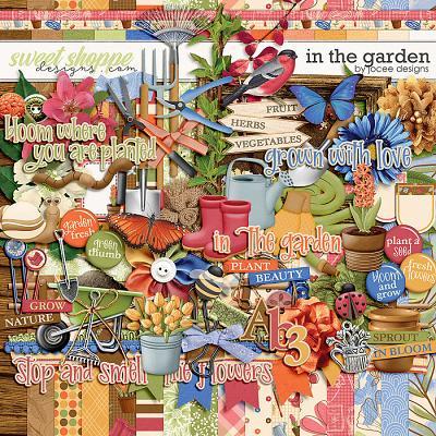 In the Garden by JoCee Designs