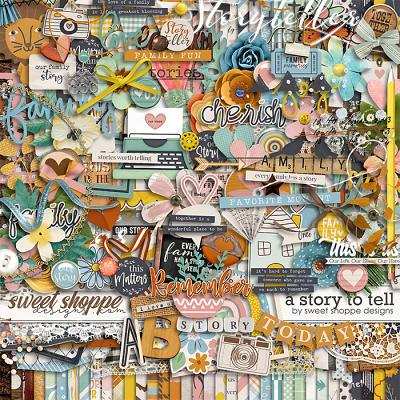 *FREE with your $20 Purchase* A Story to Tell by Sweet Shoppe Designs