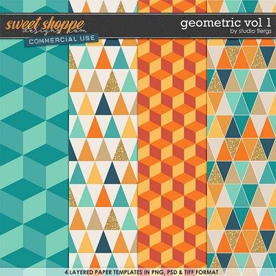 Geometric VOL 1 by Studio Flergs