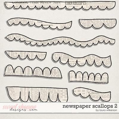 Newspaper Scallops 2