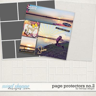 Page Protectors No.2 by WendyP Designs