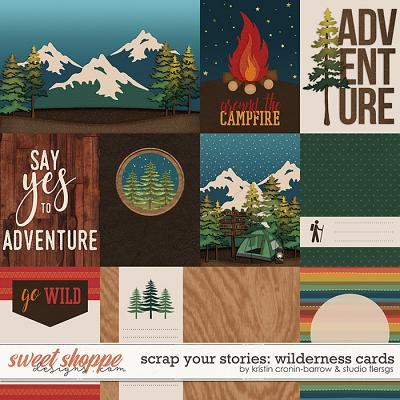 Scrap Your Stories: Wilderness- CARDS by Studio Flergs and Kristin Cronin-Barrow