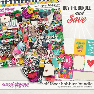 Self-Love: Hobbies Bundle by Amanda Yi & Meagan's Creations