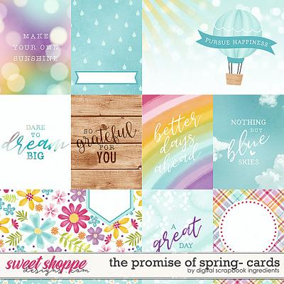 The Promise Of Spring | Cards by Digital Scrapbook Ingredients