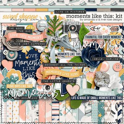 Moments Like This: Kit by Amanda Yi & River Rose Designs