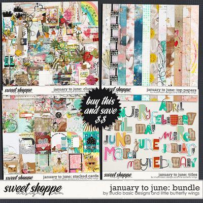 January To June: Bundle by Studio Basic & Little Butterfly Wings