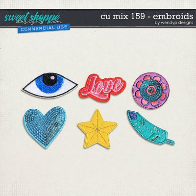 CU Mix 159 - Embroids by WendyP Designs