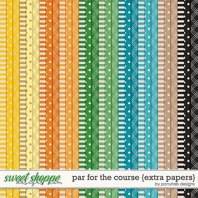 Par for the Course Extra Papers by Ponytails