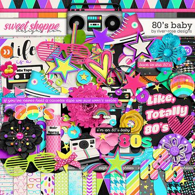 80's Baby by River Rose Designs
