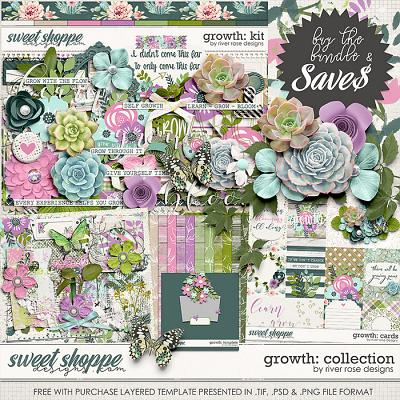 Growth: Collection + FWP by River Rose Designs