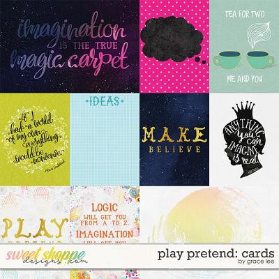 Play Pretend: Cards by Grace Lee