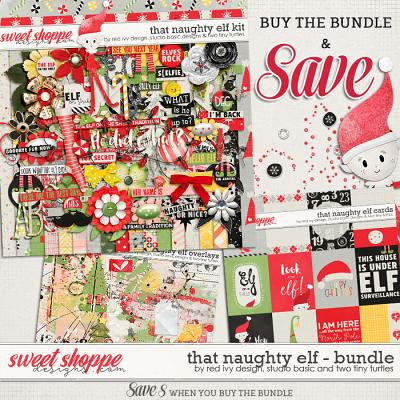 That Naughty Elf - Bundle by Red Ivy Design, Studio Basic and Two Tiny Turtles