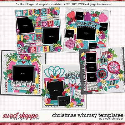 Cindy's Layered Templates - Christmas Whimsy by Cindy Schneider