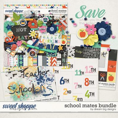 School Mates Bundle by Dream Big Designs